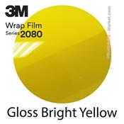"3M Wrap Film ""Gloss Bright Yellow"