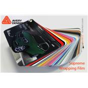 Nuancier Avery Dennison - Wrapping Films