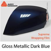"Avery Dennison Wrap Film ""Gloss Metallic Dark Blue"