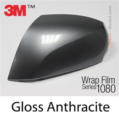 "3M Wrap Film ""Gloss Anthracite"