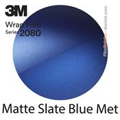 "3M Wrap Film ""Matte Slate Blue Metallic"